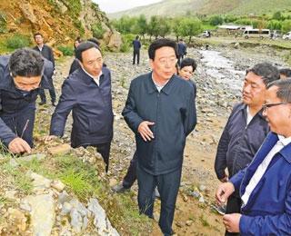 吳英杰:把生態文明建設放在更加突出位置 加快美麗西藏建設筑牢國家生態安全屏障