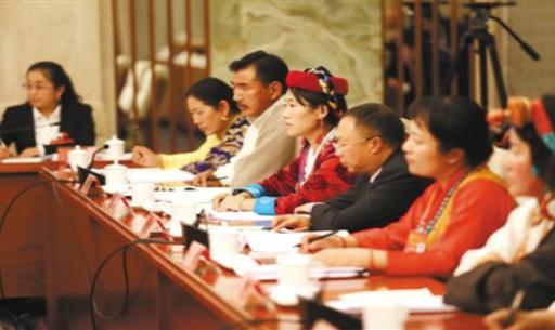 中国共产党第十九次全国代表大会西藏代表团参会掠影