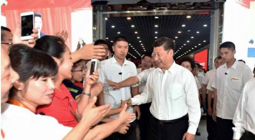 习近平:中华民族积蓄的能量太久了,要爆发出来去实现中国梦